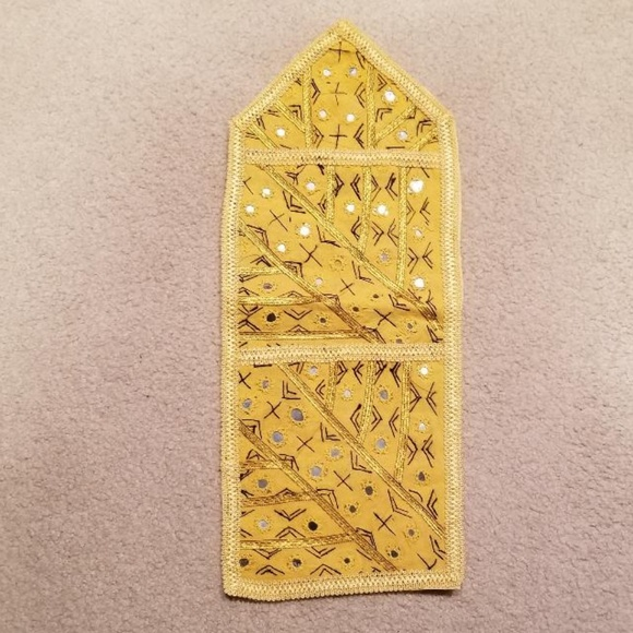 Other - Yellow decorative wall hanger
